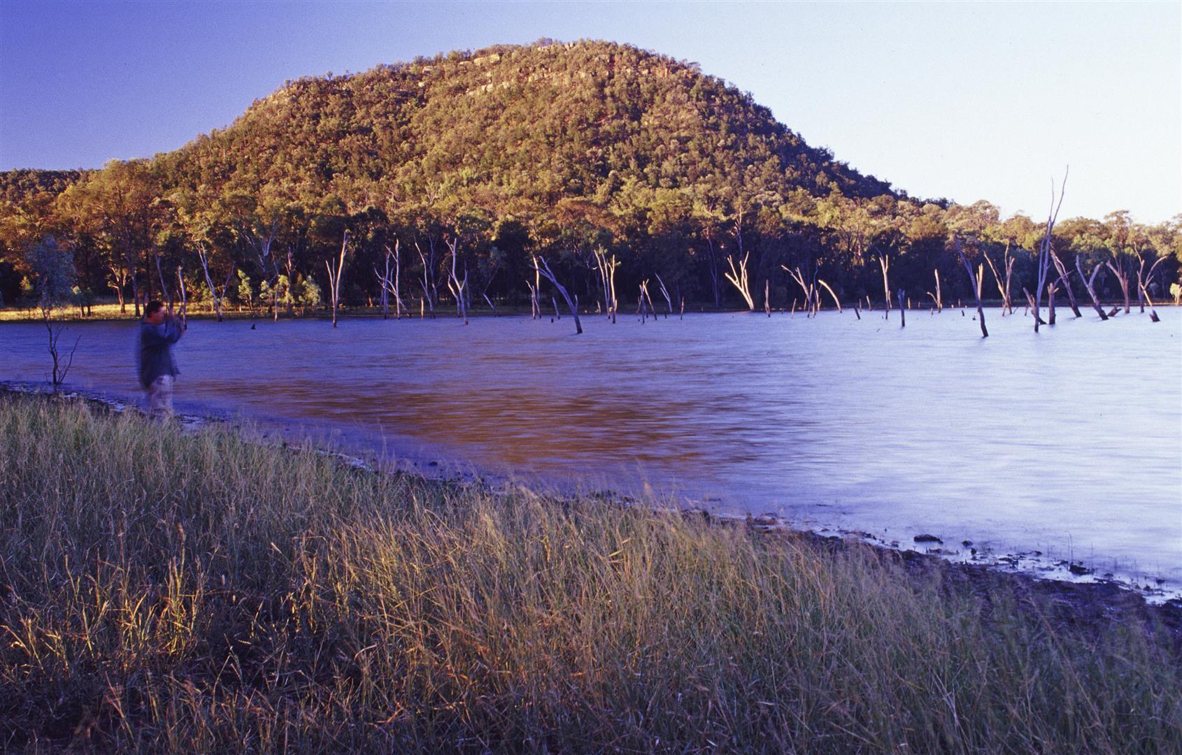 Lake Nuga Nuga NP.
