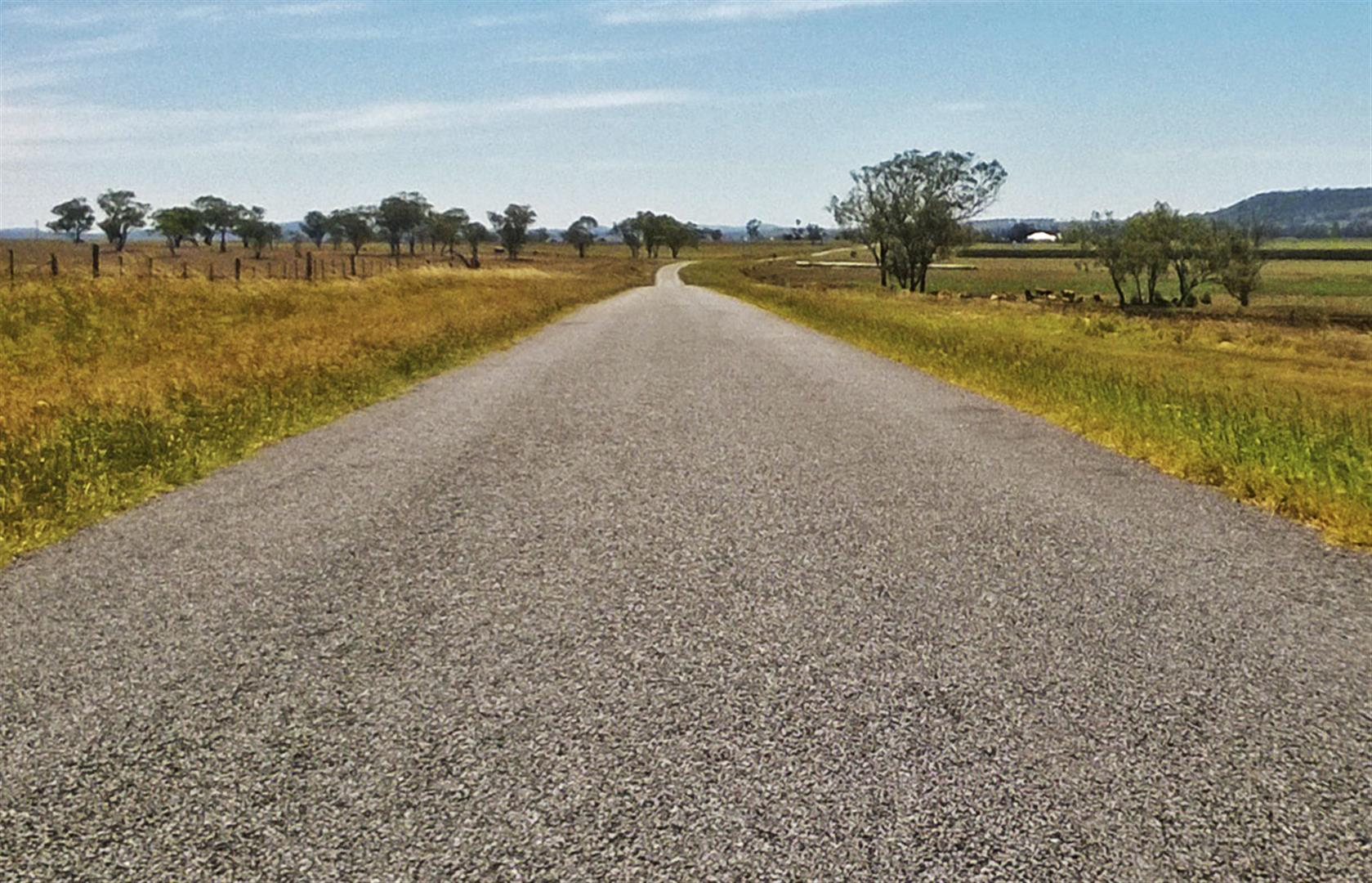 The road to Goomburra.