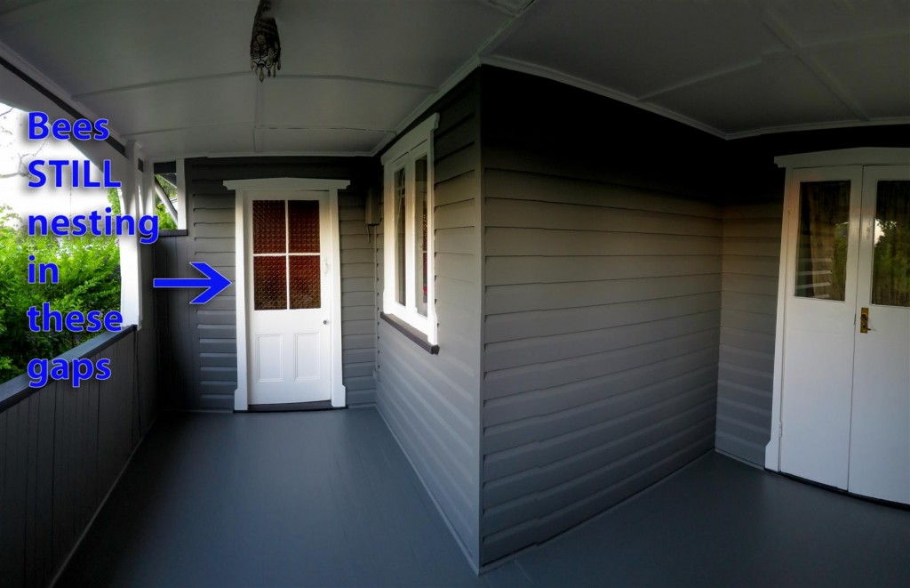 verandah after